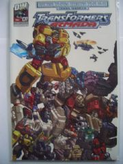 Transformers Armada More Than Meets The Eye Guidebook #1 2003